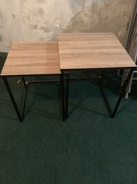 Set of two end tables East Rutherford, 07073