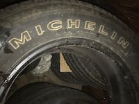 Black car wheel with tire Toronto, M1G 2X6