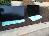 two black and blue wooden tables Austin, 78758