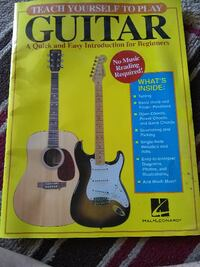 Teach yourself to play guitar! CAPECANAVERAL