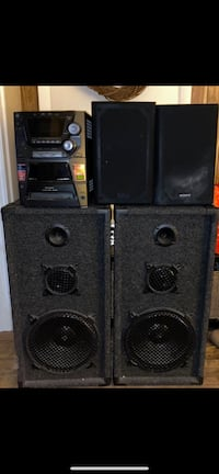Speakers, amp, bass Lowell