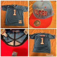 NFL jersey and hat collection (21 jerseys 21 hats) sell all at once preferably Crystal, 55422