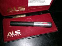 ALS laser pointer made in the usa. 1992. Whitchurch-Stouffville, L4A 7X5