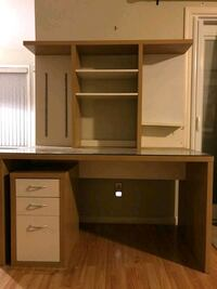 IKEA WOODEN DESK AND DRAWER Delta