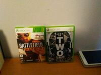 two Xbox 360 game in cases Oswego, 60543