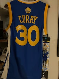 Curry signed jersey