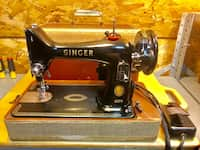 Used SINGER 99K SEWING MACHINE / REFINISHED CABINET for sale