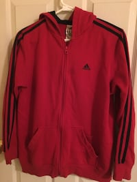 red and black adidas zip-up jacket Surrey, V3R 2Z2