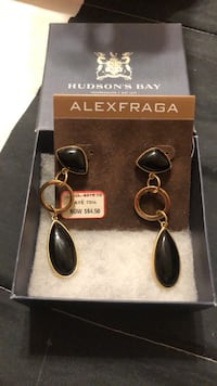 Alex Fraga Onyx Earrings - Final Price Reduction Mississauga, L4Z 1H7