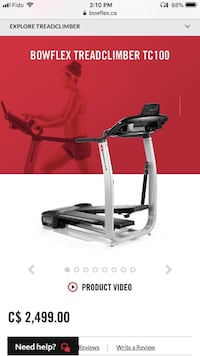 black and gray elliptical trainer Vancouver, V5W 2Z4