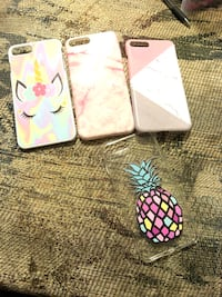 two white and pink iPhone cases Sutton, 26601