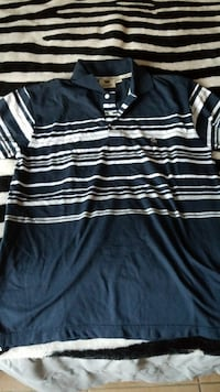 blue and white striped polo shirt Kingman, 86409