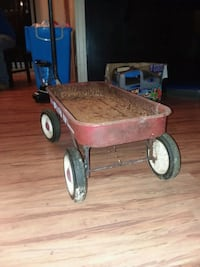 Antique Roadmaster wagon Afton