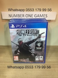 ps4 homefront the REVOLUTİON