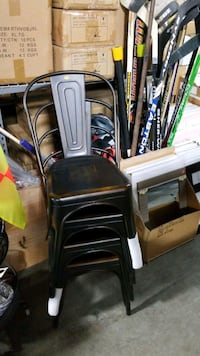 Metal stackable chairs Mississauga, L4X 1R1