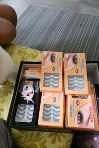 Box of different lashes all new. Vancouver, V5W 3L1