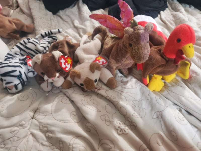Bag of Beanie Babies  0