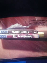 two Watch Dogs 2 and Battle Crashers Sony PS4 game St. Catharines, L2P 0B2