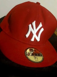Red NY baseball cap London, N6C 3X5