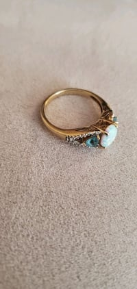 10k Gold ring ???? size 7 and 4 grams  Gaithersburg, 20879
