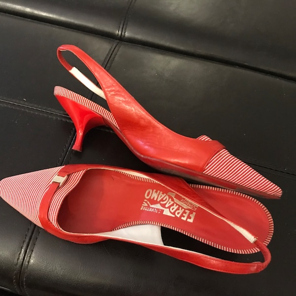 Salvatore Ferragamo red women shoes