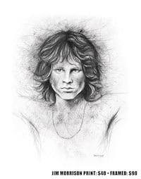 Jim Morrison drawing