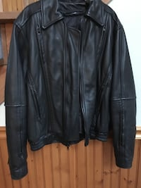 Leather Protech Motorcycle jacket women's Harpers Ferry, 25425