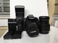 Canon 60D dslr camera w/ 3 lenses + flash Bethesda, 20817