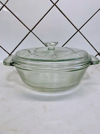 Anchor and Pyres Hocking Ovenware Casserole Dish 1.5 Qt with LID 549 km