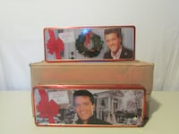 Russell Stovers Elvis Tins Empty Belvidere