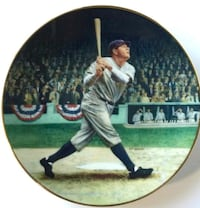 """""""22 K GOLD"""" Babe Ruth Vintage Plate First  Waldo, 32694"""
