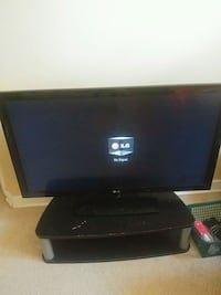 black LG flat screen TV Winnipeg, R3E 0B3