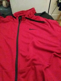 red and black Nike zip-up jacket Providence, 02909