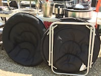 two black and white travel luggage Guilford, 06437