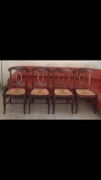 Pottery Barn Chairs (4) four chairs in excellent condition