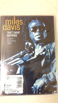 that's what happened live in Germany Miles Davis poster Houma, 70360