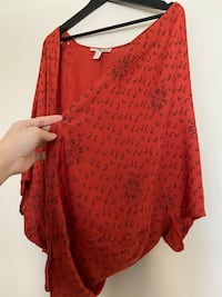 Forever 21 poncho
