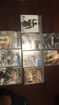 Assorted sony ps3 game cases Bentonville, 72712