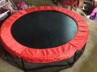round red and black trampoline Burlingame