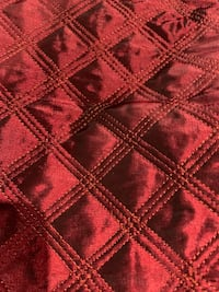 Burgundy pillow slip covers for accent pillows