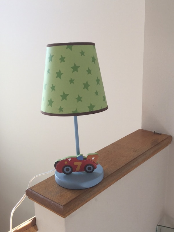 Boys bedroom lamp