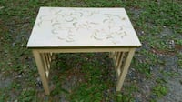 Wood Side End Accent Table  Billerica, 01821
