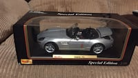 Gray and black coupe die-cast model New Brighton, 15066