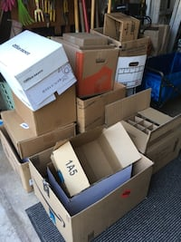 Boxes in good condition, before I break them down for the recycler these are good for anyone moving, cleaning, reorganizing Duarte, 91010