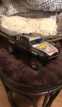 black and yellow RC monster truck Rocky Point, 11778