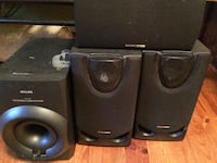 Philips Speakers and subwoofer Easley, 29640