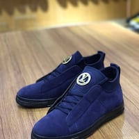 pair of blue Louis Vuitton casual shoes Edmonton, T5Y 2X7
