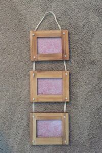 Urban Outfitters chic wooden picture frame (3.5x5) Arlington, 22201