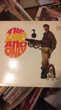 The One and Only vocal sounds of Wes Harrison autographed record