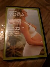 Prenatal yoga dvd unopened Langley, V2Y 1A7